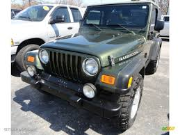 2006 jeep green metallic jeep wrangler rubicon 4x4 63871495 photo