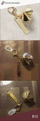 fortune cookie keychain anthropologie fortune cookie keychain key card holder