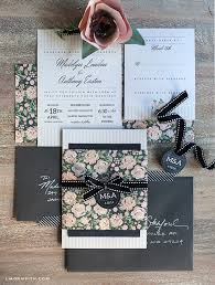wedding invitation set diy vintage wedding invitation set