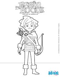 robin hood coloring pages best 80