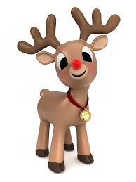 rudolph red nosed reindeer clipart face clipartxtras