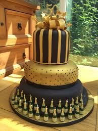 elegant white u0026 gold 50th two tier birthday cake tiered birthday