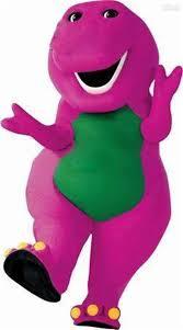 custome product purple barney mascot character costume halloween