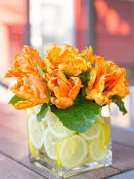 how to decorate a glass vase hgtv
