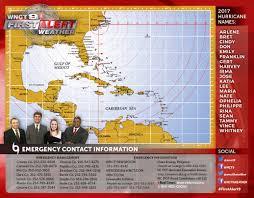 Hurricane Tracking Map First Alert Weather Hurricane Center Wnct Tv