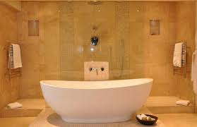 Bathroom Bathtub Ideas Free Standing Soaking Tub Bathroom With Sidemount Shower