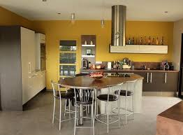 peinture cuisine jaune emejing cuisine peinte en jaune photos design trends 2017