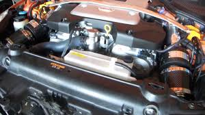 fairlady z engine nissan fairlady z 350z dual carbon chamber air intake youtube
