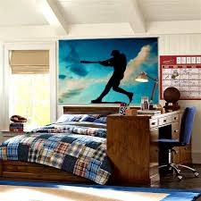 interior designs astounding bedroom sports decorating ideas interior designs astonishing varsity baseball wall mural room picture for bedroom plus study desk make a