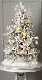Mini White Christmas Tree Decorations by Our Cute Blue White Christmas Tree Christmas Tree Holidays