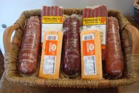 meat and cheese gift baskets gift basket frohling meats