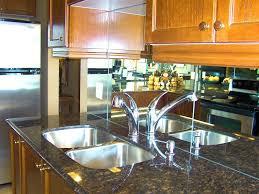 mirror backsplash in kitchen kitchen with mirror backsplash savary homes
