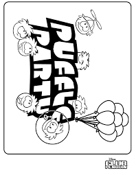 coloring pages of club penguin puffle coloring pages