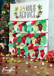 christmas advent calendar new tutorial christmas advent calendar fleece