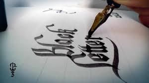 imagenes goticas letras letras góticas black letters youtube