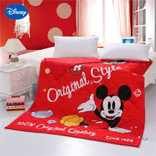 Mickey Mouse Bedroom Ideas Online Get Cheap Red Mickey Mouse Bedding Aliexpress Com