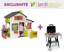 smoby cuisine enfant cabane enfant pas cher smoby house barbecue