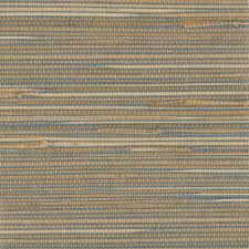 kenneth james jissai mariner blue grasscloth wallpaper 2693 30270