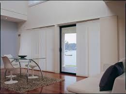 Fabric Blinds For Sliding Doors Wonderful Tempered Glass Sliding Door Blinds With White Frame