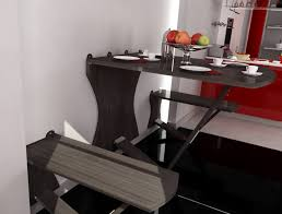 astonishing decoration kitchen wall table mounted drop leaf home