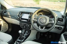 jeep compass limited interior jeep compass price starts at rs 14 95 lakhs motorbeam