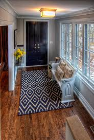 foyer area foyer bench mode chicago traditional entry image ideas with area rug