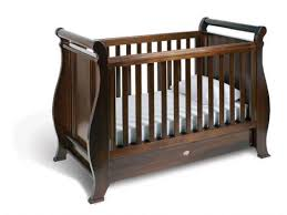 Sleigh Cot Bed Nanny 4 In 1 Classic Sleigh Cot Bed Oak