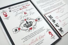 wedding invitations las vegas casino wedding invitations we like design