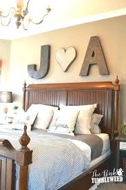 home interior figurines farmhouse bedding ideas initials wooden wall letters