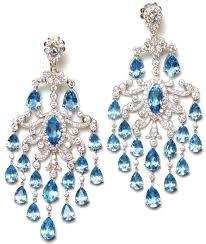 blue chandelier earrings zspmed of blue chandelier earrings new about remodel home