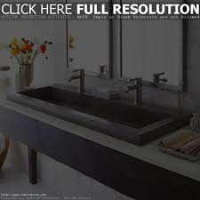 trough sink bathroom double befitz decoration