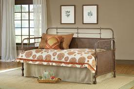 amazon com hillsdale kensington metal daybed in old rust daybed