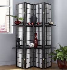 eurico floor l with shelves folding screen shelf from seventh avenue dc705482