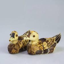 home decoration accessories fidget spinner handmade bamboo duck