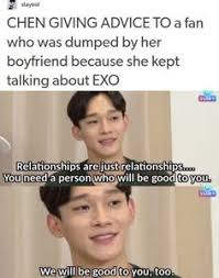 Actual Sexual Advice Girl Meme - pin by ash on exo pinterest exo k pop and kdrama