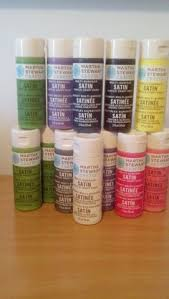 martha stewart satin acrylic craft paint set 10pk 22 craft