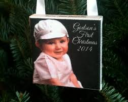 goddaughter ornament godchild christmas etsy