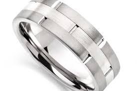 wedding rings for men shiny mens silver wedding rings lovely rings