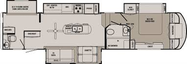 Rv 2 Bedroom Floor Plans 2 Bedroom 5th Wheel Floor Plans Inspirations Including Rv Bunk Bed