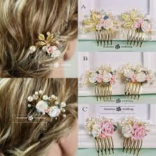 cheap hair accessories shinning pearls bridal hair accessories cheap gold hair