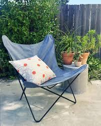 Folding Butterfly Chair Butterfly Chair In Denim U2013 Sobu