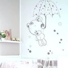 stickers pour chambre bébé fille sticker chambre fille sticker mural au motif comptine escargot pour