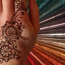 12 colours glitter gel cone henna tattoo gilding body art