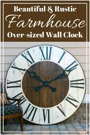 best 25 giant wall clock ideas on pinterest large clocks for
