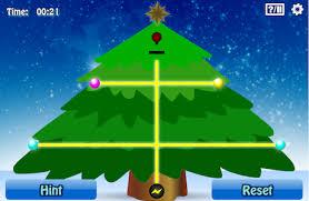 christmas tree light game identifor skills games