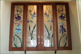 cabinet door glass inserts home decor cabinet door with glass insert wall mounted kitchen