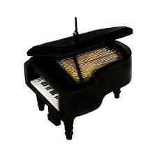 black grand piano ornament ornaments
