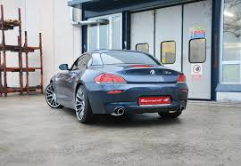 bmw e89 performance sport exhaust for z4 sdrive35is bmw e89 z4 35is