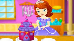sofia sofia cooking princess cake disney movie