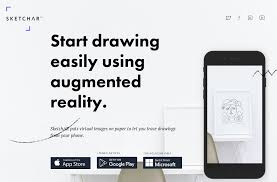 sketchar start drawing easily using augmented reality